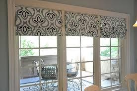 shades for sliding glass doors nonsensical patio door roman grande room hang home ideas 12
