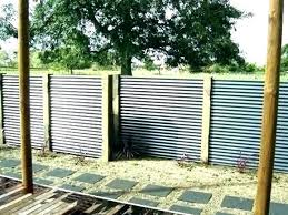 corrugated metal fence panels corrugated metal fence panels s home depot