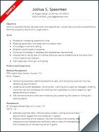 Objective In Resume Samples Receptionist Resume Objective Resume For Receptionist Receptionist
