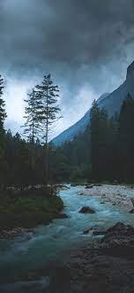 np31-mountain-wood-night-dark-river-nature