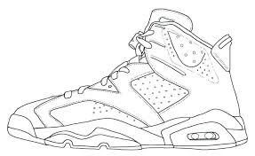 16 Elegant Air Jordan Coloring Pages Coloring Page