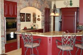 Red country kitchens Small Space Red Country Kitchen Perfect Cabinet Design Cabinets Painted Home Design Ideas Red Country Kitchen Perfect Cabinet Design Cabinets Painted