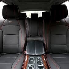car suv truck pu leather seat cushion covers black 0
