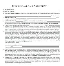 Property Contract Templates Magnificent House Purchase Contract Form Mobile Home Sample Agreement Worthy