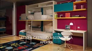 Camerette Letti Camerette Salvaspazio Per Letto Impero Young Di ...