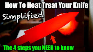 Knife Tempering Color Chart How To Heat Treat A Knife The 4 Steps You Need To Know
