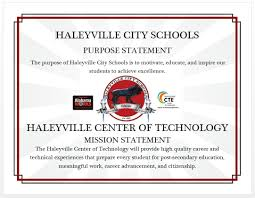 haleyville center of technology preparing students today for mission and purpose statements