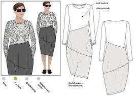 Designer Sewing Patterns Magnificent Maisie Designer Dress Style Arc