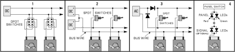 control panels dcc guy now let s digress a minute to talk about powering the tortoises and leds the tortoise instruction sheet has very good diagrams showing how to use various
