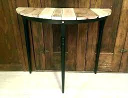 half round entry table half table for entryway foyer half moon table foyer half moon table