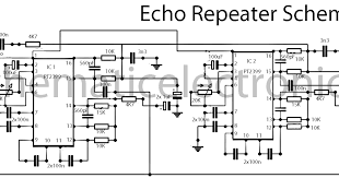 echo effect ic pt2399 schematic ~circuit diagram