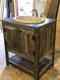 Reclaimed Wood Bathroom Vanity Rustic Barn Ct
