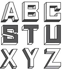 block letters 07
