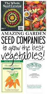 garden seed companies. Beautiful Companies These Are THE BEST Seed Companies I Have Found To Grow Awesome Vegetables  Now Some Growers Provide Seeds For Healthy And Delicious  Intended Garden Seed Companies