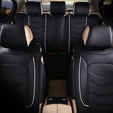 free luxury leather car seat cover universal