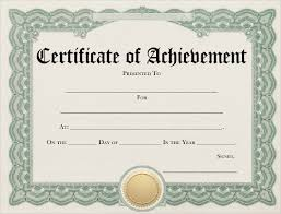 Free 10 Examples Of Certificate Of Achievement In Publisher