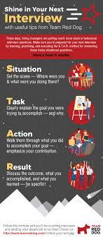 Star Questions Shine In Your Next Interview Infographic Team Red Dog Www