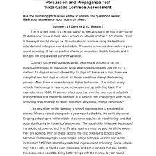 Essay Persuasive Examples 6th Grade Persuasive Essay Examples Maggi Hub Rural Co