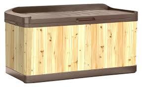 wooden deck box wood deck storage boxes wood and resin deck box outdoor wooden storage boxes