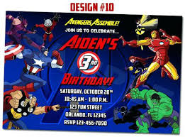 superheroes birthday party invitations marvel birthday party invitations avengers invi on template