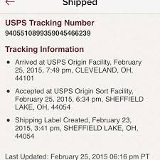 Poshmark Tracking Order Status