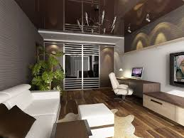 Interior: Traditional Style Apartment Living Room Decor Ideas With Brick  Wall And Fireplace   Apartment