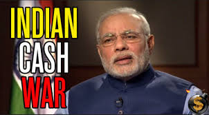 Image result for India's war on cash