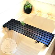 bathtub reading tray bathtub shelf tray for laptop reading tub pole wood bathtub reading tray bathtub reading tray