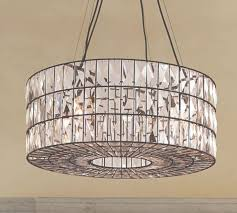 adeline crystal chandelier pottery barn in round chandeliers view 2 of 45