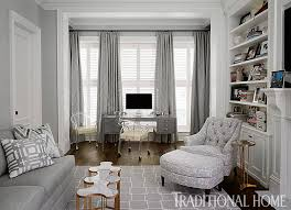 home office bill and giuliana rancics chicago brownstone chicago home office