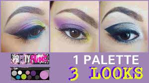 <b>M.A.C PRETTY PUNK</b> - 1 PALETTE 3 LOOKS - YouTube