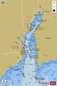 Little Bay De Noc Depth Chart Little Bay De Noc Michigan Marine Chart Us14915_p1404