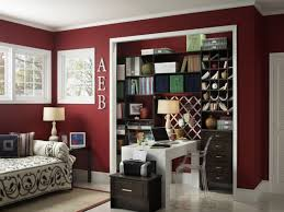 home office in a closet. Closet Home Office Design Ideas New In A
