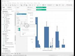 How To Create A Variable Width Bar Chart In Tableau