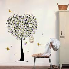 tree heart wall decal medium 50 x