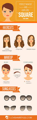 10 Sexy Hairstyles For Square Faces Square Faces Faces And
