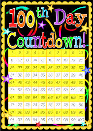 Calendar Countdown Days 100 Day Countdown Poster Included Is A 200 Day Countdown Poster