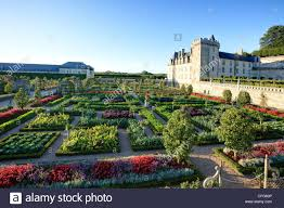 Kitchen Gardens France Gardens Of Villandry Castle The Kitchen Garden Treated