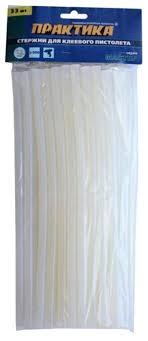 <b>ПРАКТИКА Клеевые стержни</b> 11x300 мм, 33 шт — купить по ...