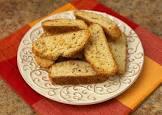 black peppercorn   romano cheese biscotti
