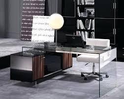 glass office desk furniture 138901519 executive glass office desk furniture
