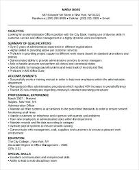 Office Manager Resume Template Unique Administrative Manager Resume Administrative Manager Job Description