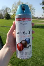 Valspar Turquoise Spray Paint Tropical Oasis Beauty In The Midst