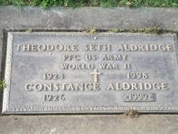 Constance Aldridge (1926-1999) - Find A Grave Memorial