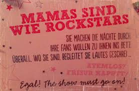 Mamas Sind Wie Rockstars Mammandrea