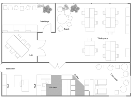 office space floor plan. RoomSketcher-Office-Floor-Plan Office Space Floor Plan F