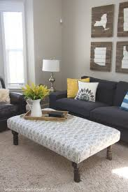 coffee table maximizing the use of leather ottoman coffee table tiny