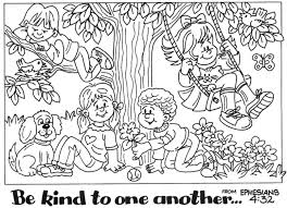 Showing Kindness Coloring Pages