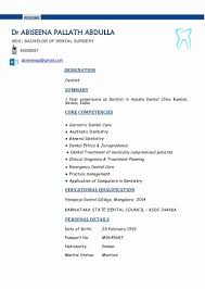 Dentist Resume Sample dental cv Onwebioinnovateco 35