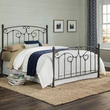 fashion bed group. Simple Bed Fashion Bed Group Hinsdale Antiqued Pewter California King Metal Complete  With Sloping Top Rails And For
